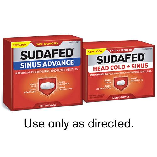 Save on SUDAFED Products