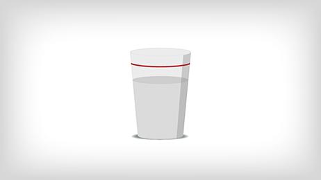 Image d'un verre d'eau