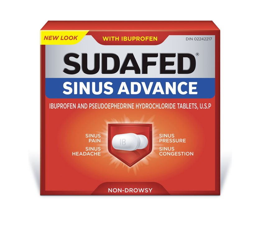 SUDAFED SINUS ADVANCE®